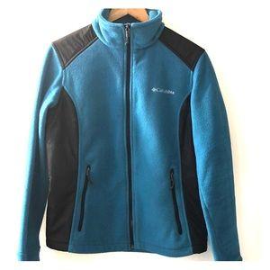 Women's Columbia zip up fleece jacket size Lg